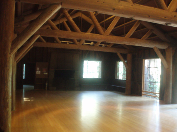 Camp 1 Recreation Hall dance floor