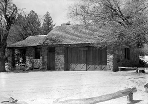 Cuyamaca Rancho Fire Station, 1936