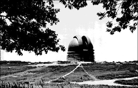 Palomar Observatory dome nearly finished, 1936