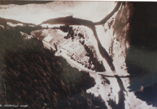 Aerial view of Camp Burlington-Humboldt
