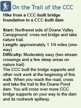 Description of hike at Doane Valley