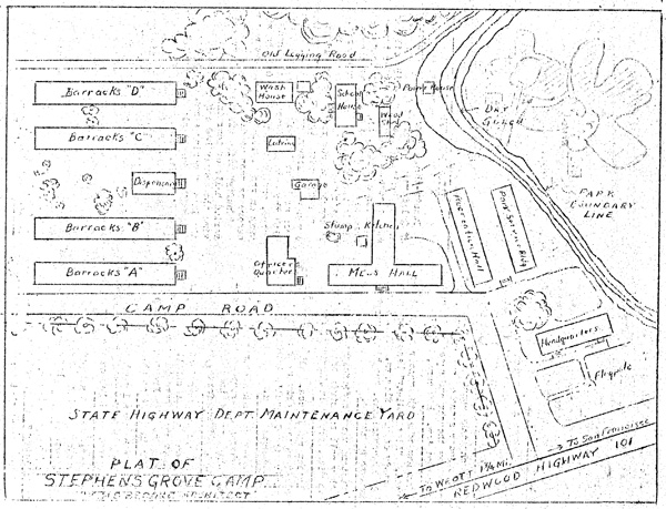 Stephens Grove Camp Plat