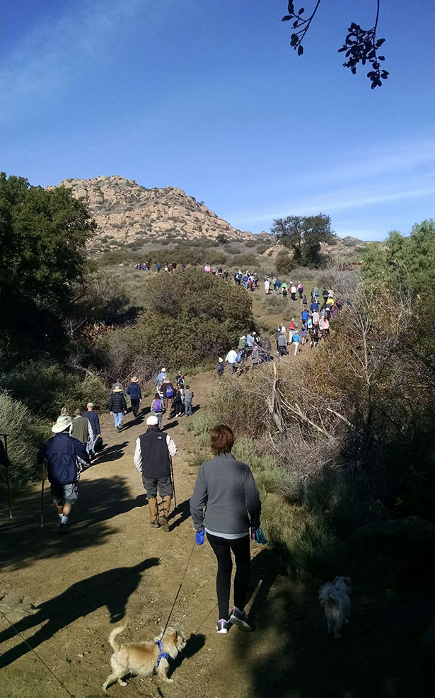 Santa Susana Pass State Park 2017 First Day Hike Image