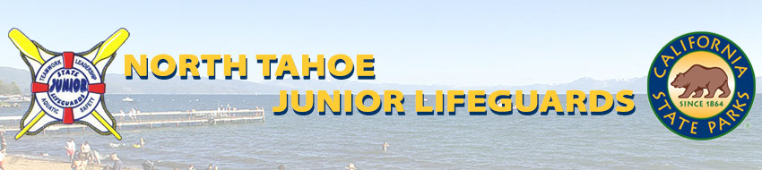 North Tahoe Junior Lifeguards Banner