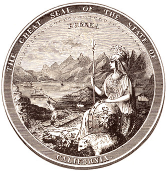 California State Seal, 1849