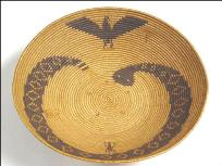 Cahuilla Condor Basket (1910) Tribal Museum of the Cabazon Band of Mission Indians