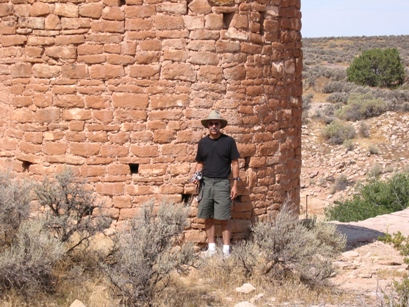 Christopher Corey at Hovenweep