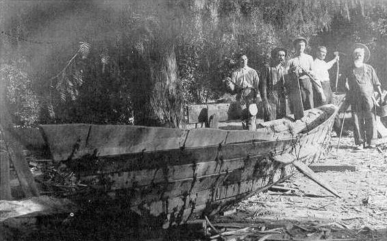 "The Chumash called themselves ""people of the tomol."" They called their canoe a ""house of the sea."" For the Chumash people of the Southern California coast, the sewn-plank canoe, or ""tomol,"" was an all important part of their lives."