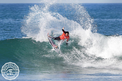 World Surf League images of San Onofre SB