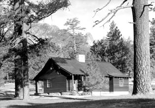 Warden's residence at Mount San Jacinto in 1936