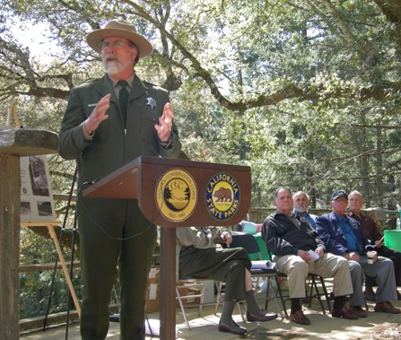Dave Gould of California State Parks