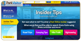Click here to check out the new Park Visitor website.