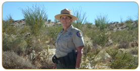 Sue McLaughlin State Parks Ranger