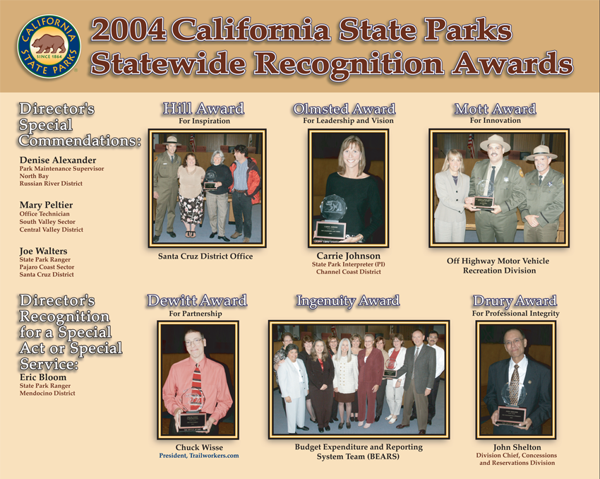 2003 Awards (click to enlarge)