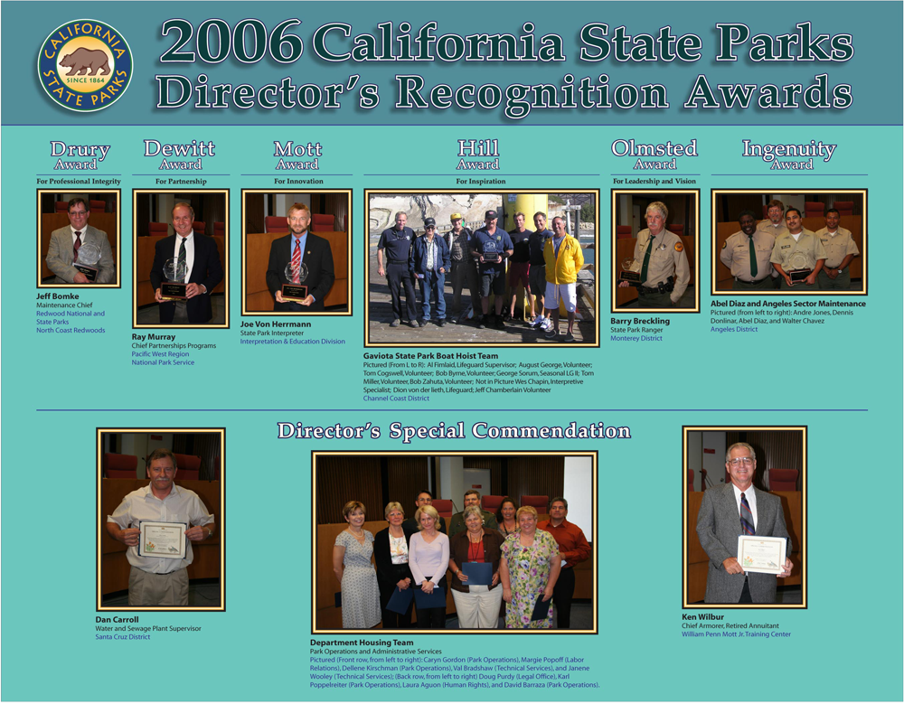 2006 Awards (click to enlarge)