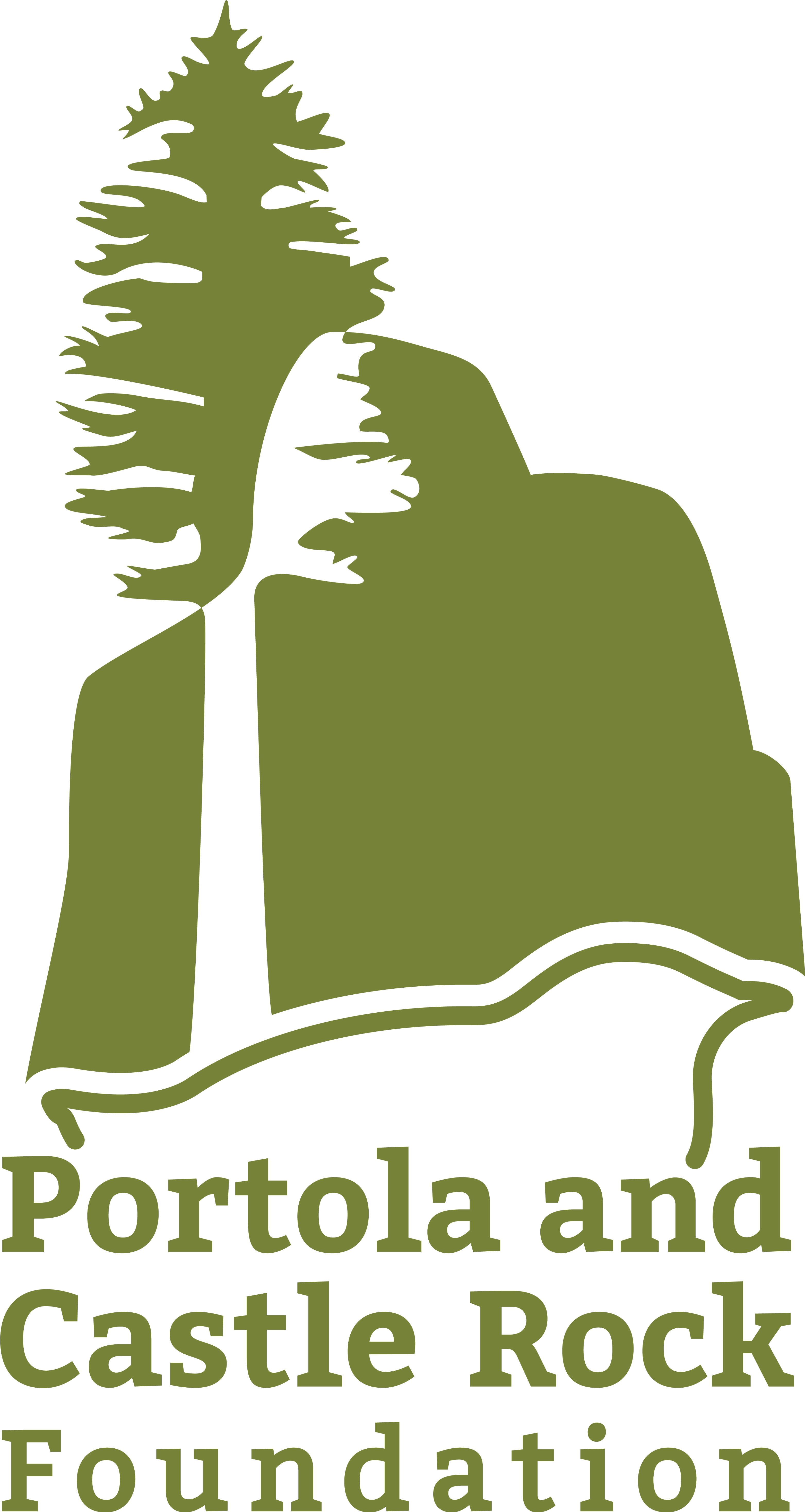 Portola Castle Rock Foundation Logo