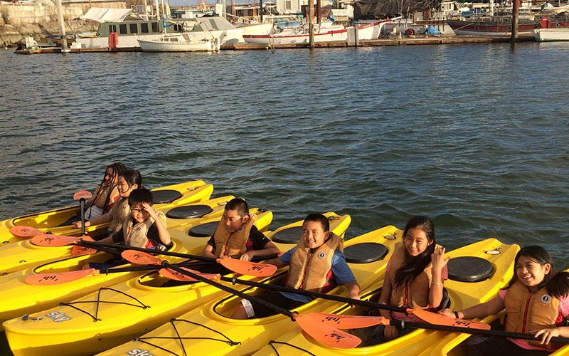City of Oakland Kayak class