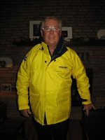 Charlie Duncan, Winner of a West Marine jacket