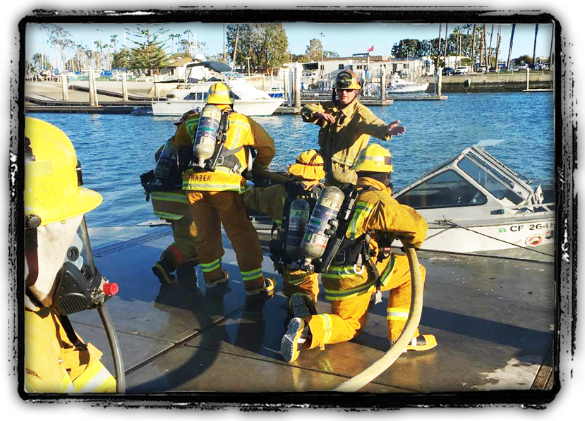 Marine Firefighter Operations