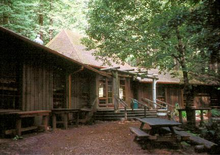 Mendocino Woodlands Camp One Lodge