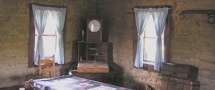 Thumbnail: View inside adobe house at Wiliam B. Ide Adobe SHP