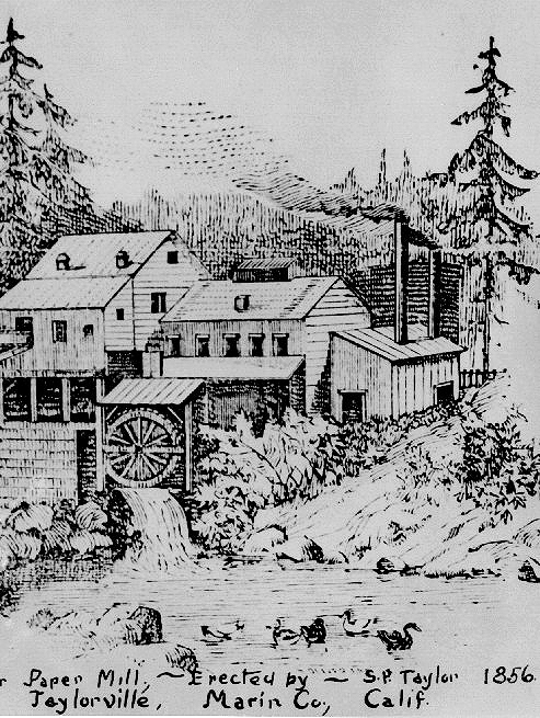 Mill Drawing 1856