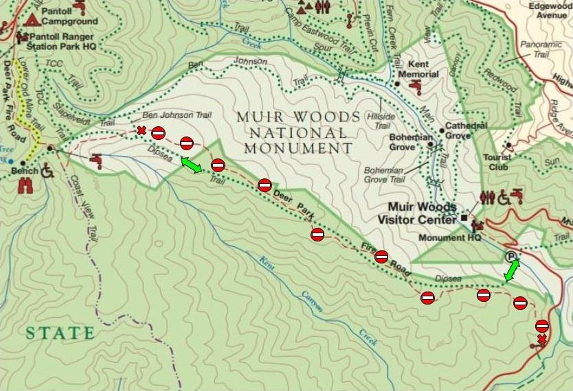 Mount Tamalpais State Park on