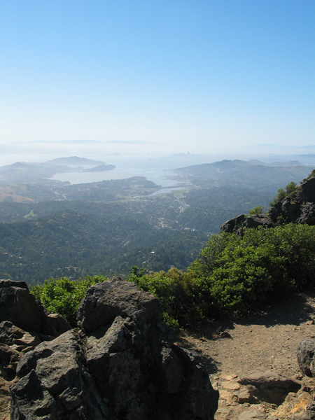 View from Mount Tamalpais Hike
