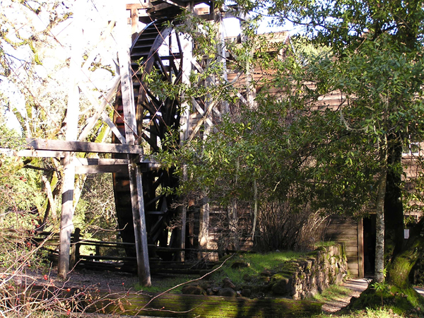 Image of Bale Grist Mill State Historic Park