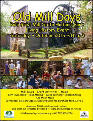Old Mill Day Poster image