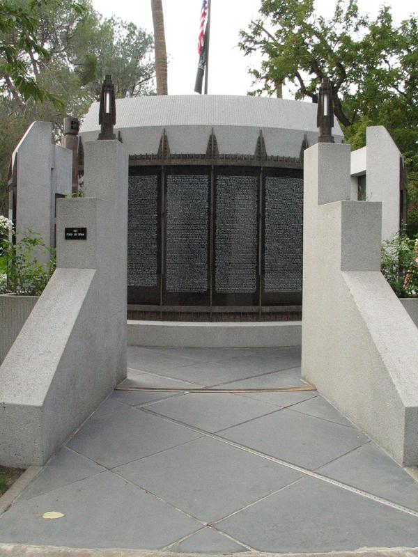 Thumbnail: Vietnam War Memorial in Capitol Park.