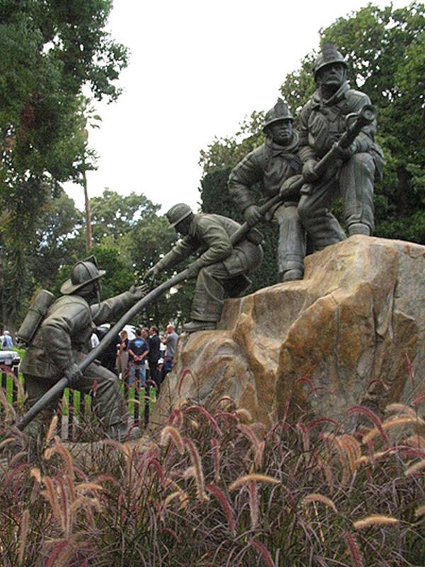 Thumbnail: California Firefighters Memorial.