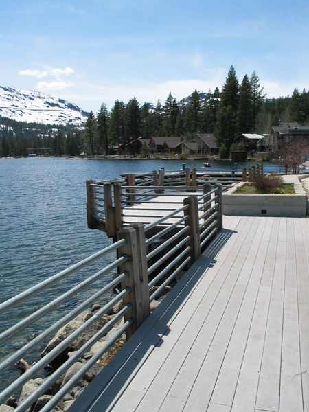 Pier Across Donner Lake - Not in Park