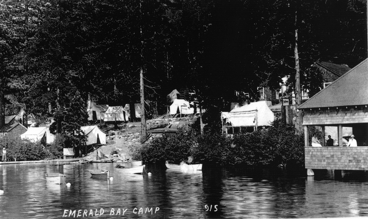 Emerald Bay Camp, 1922 image