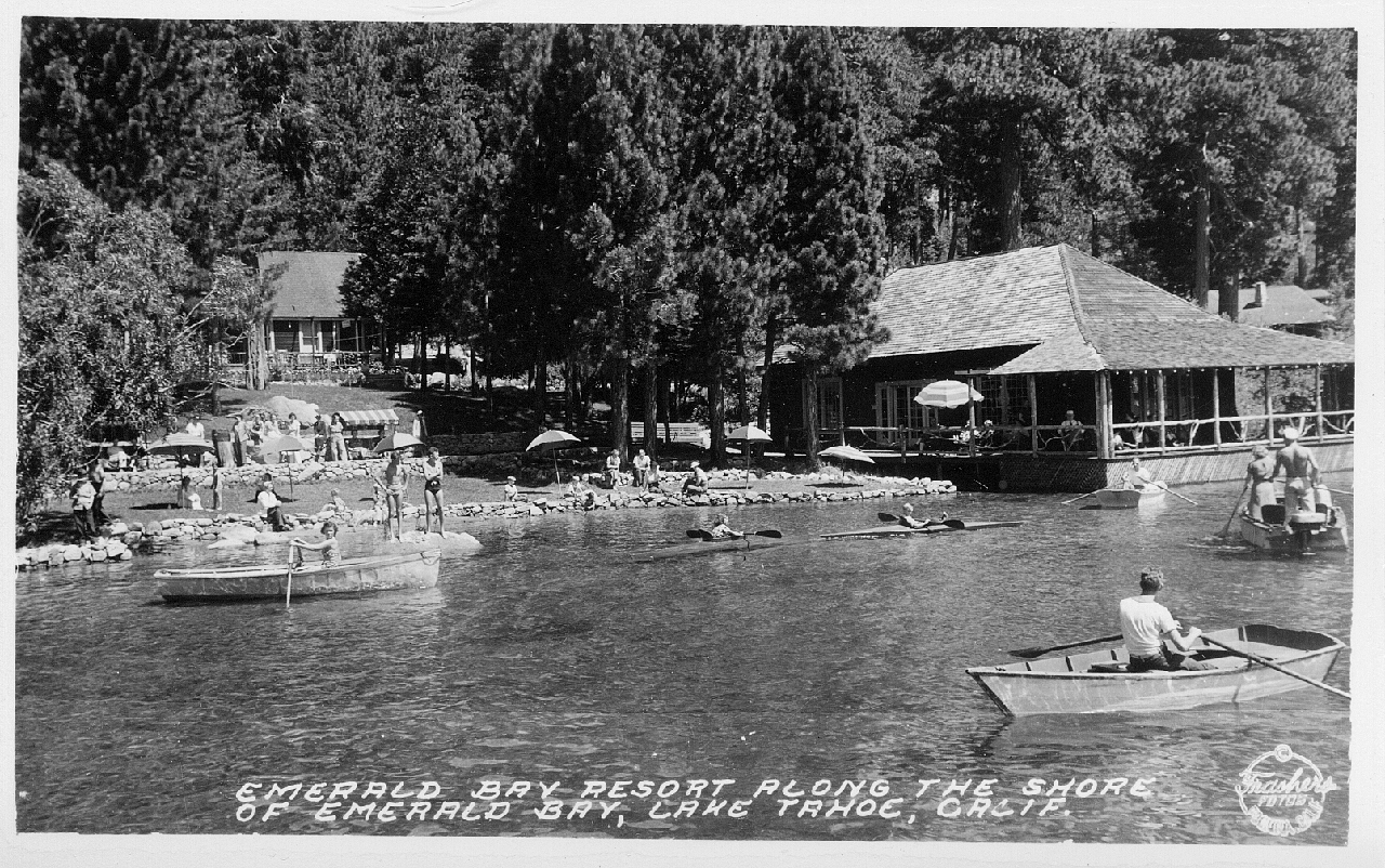Emerald Bay Resort Post Card image