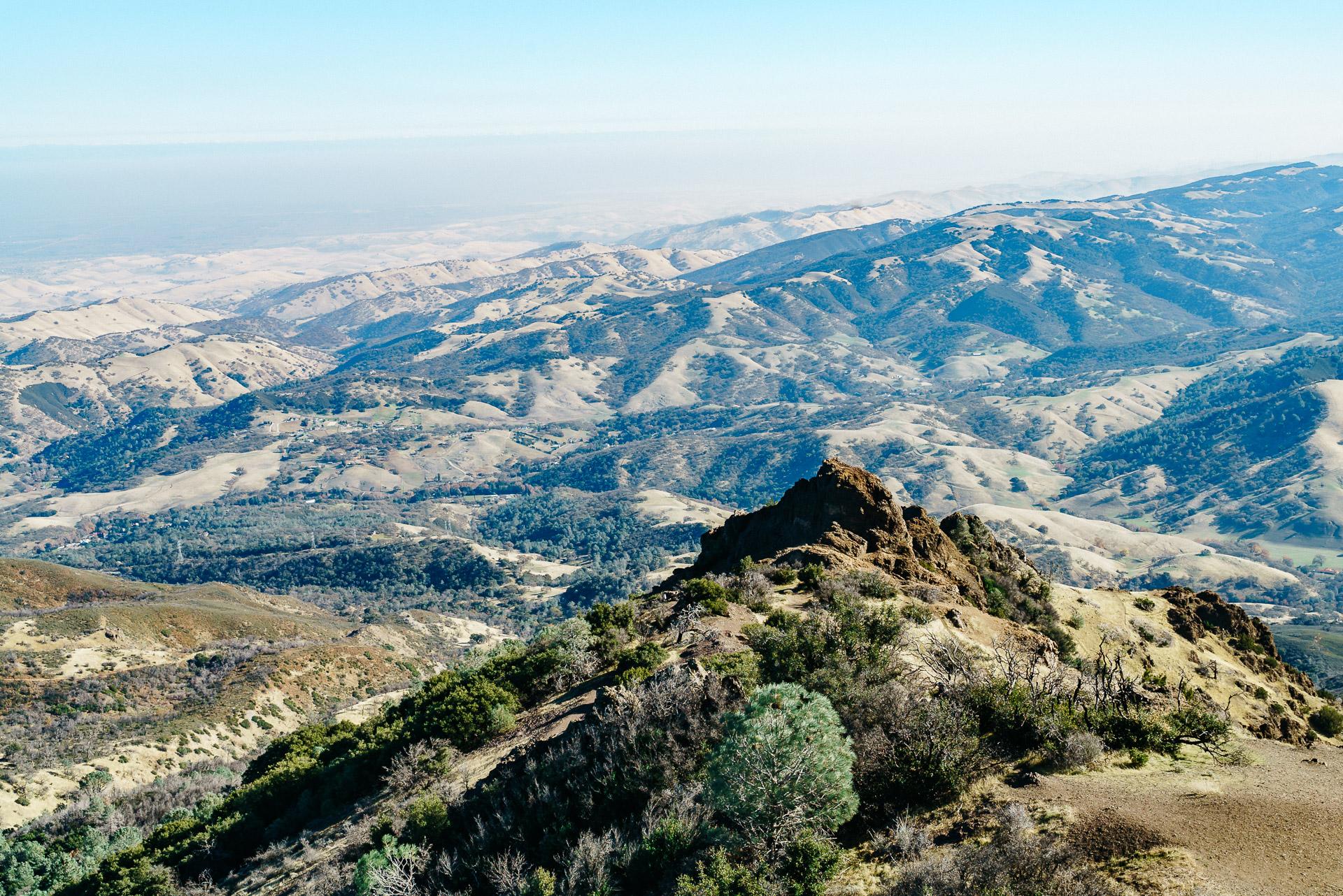 Image from Mount Diablo SP