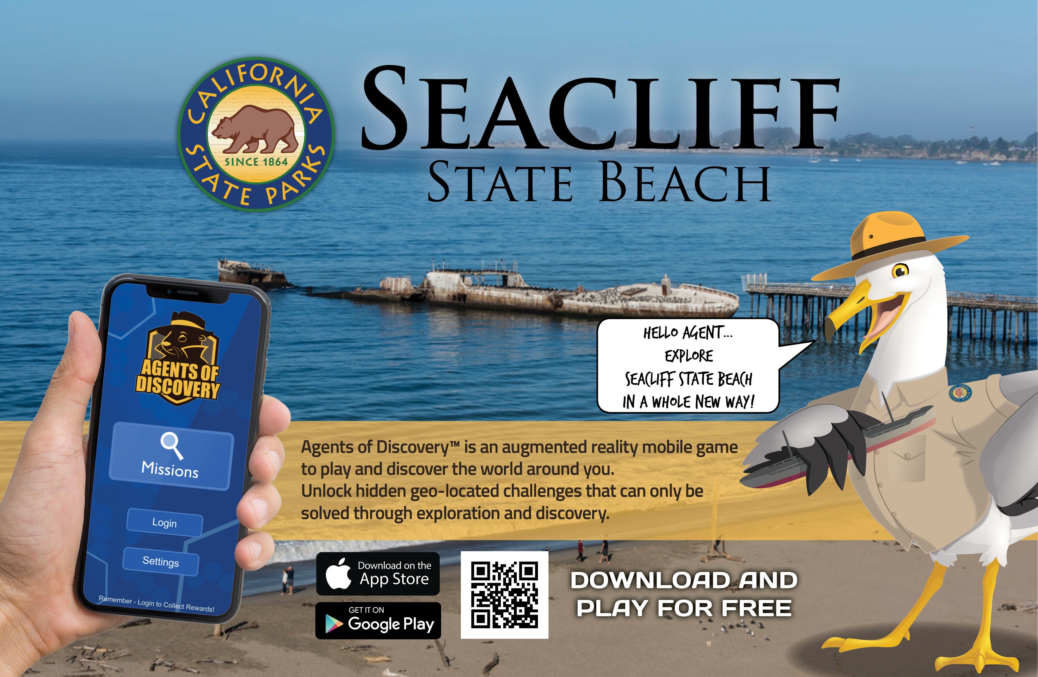 Agents of Discovery Mission Now Available at Seacliff!