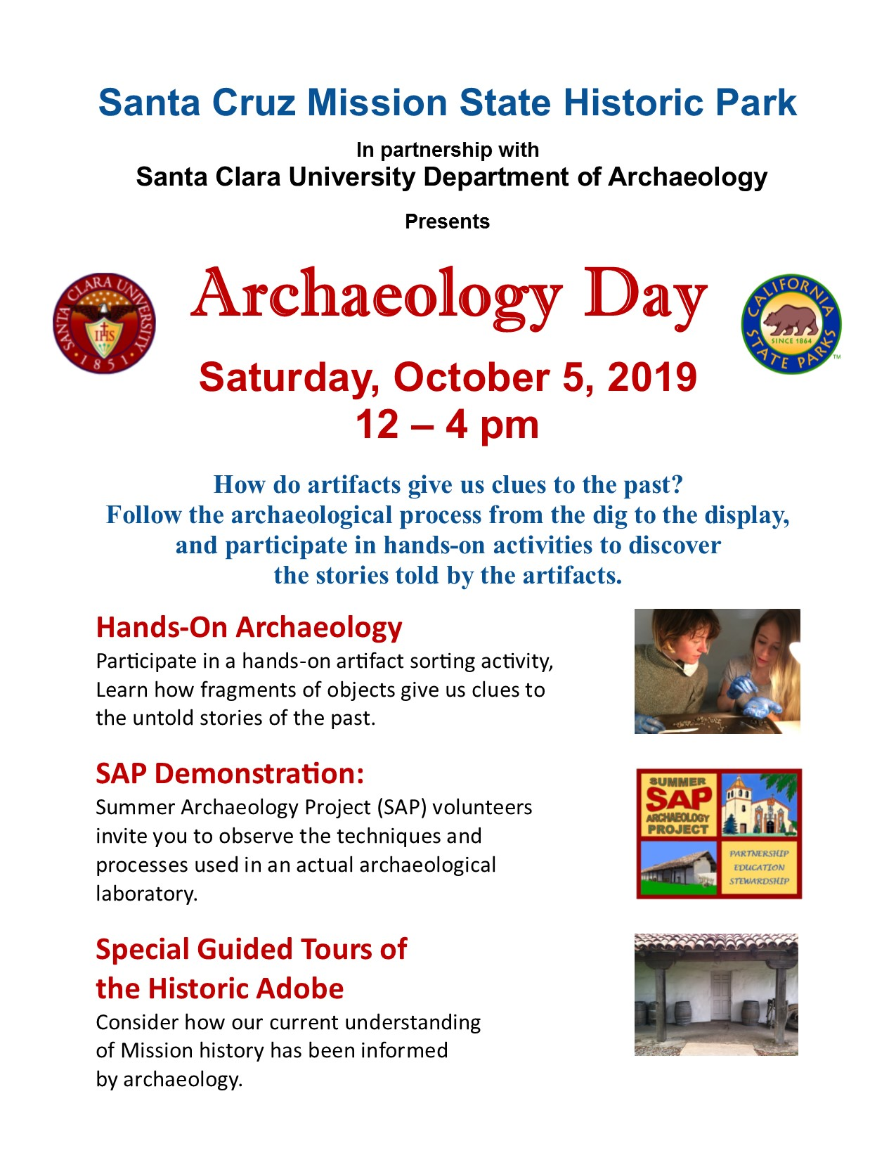 Archaeology Day 2019 poster