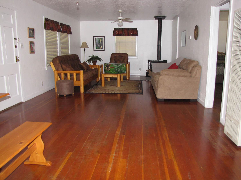 Sugar Pine Cabin Living Room