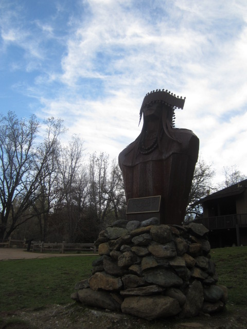 Miwok Dancer Statue image