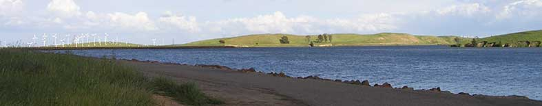 View of lake at Bethany Resevoir SRA