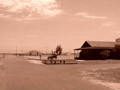 Photo: Landscape view of Colonel Allensworth State Historic Park