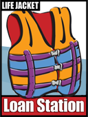 Life Jacket Loaner Station Icon