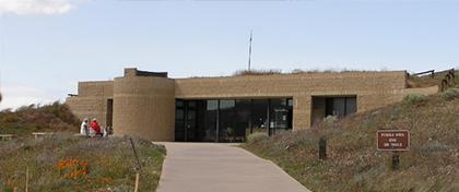 Visitor Center at Antelope Valley California Poppy Reserve SR