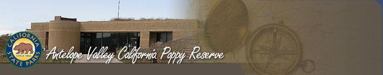 Entrance Kiosk at Antelope Valley California Poppy Reserve SR