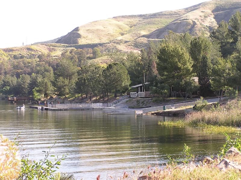Castaic lake sra for Castaic lake fishing