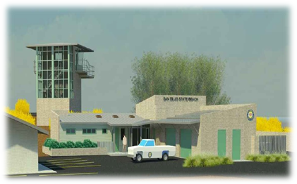 Rendering of the new Lifeguard Headquarters