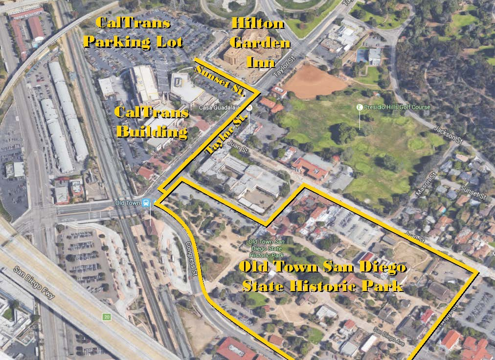 CalTrans Lot Map