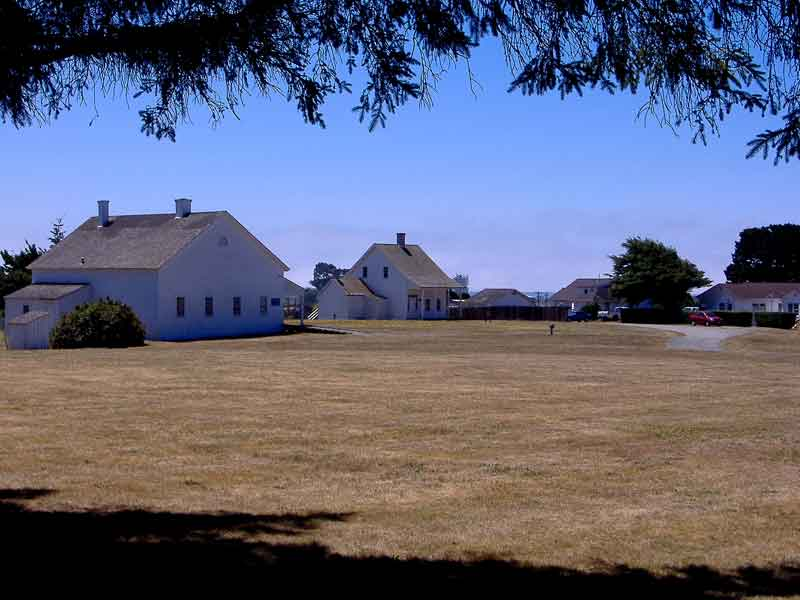 View of Fort Humboldt SHP buildings