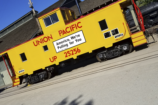 Union Pacific Caboose event image
